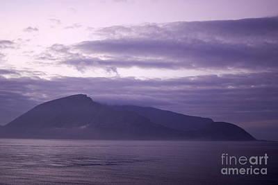 Sunrise On A Volcanic Island Art Print