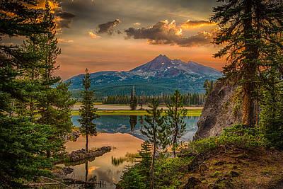 Photograph - Sunrise On Brokentop by Chris McKenna