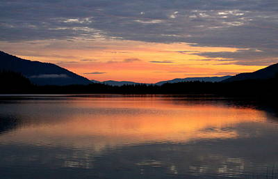 Photograph - Sunrise On Bull Lake by Karon Melillo DeVega