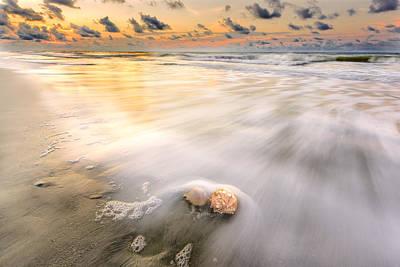 Photograph - Sunrise On Hilton Head Island by Peter Lakomy