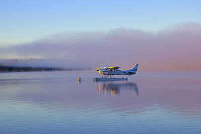 Sunrise On Lake Te Anu Art Print