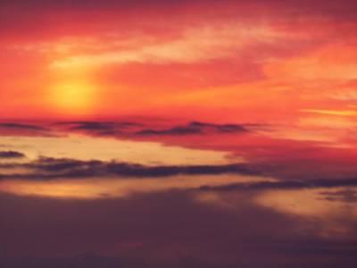 Sunrise On Mars Print by Condor