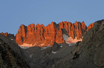 Photograph - D2m6404-sunrise On Palisade Crest by Ed  Cooper Photography