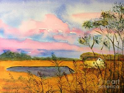 Painting - Sunrise On Patcong Creek by Joanne Killian