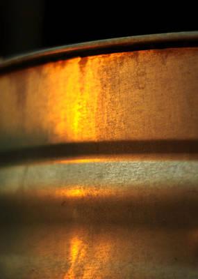 Photograph - Sunrise On Steel by Rebecca Sherman
