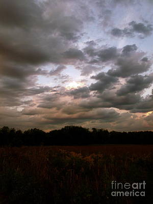 Photograph - Sunrise On Sugar Creek Prairie by Photography by Tiwago