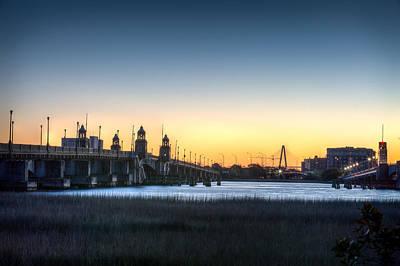 Sunrise On The Ashley River Art Print by Walt  Baker