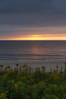 Beach Photograph - Sunrise On The Cape by Brian Caldwell
