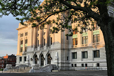 Photograph - Sunrise On The Courthouse by JC Findley