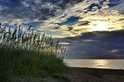 Photograph - Sunrise On The Dunes by Dave Hall