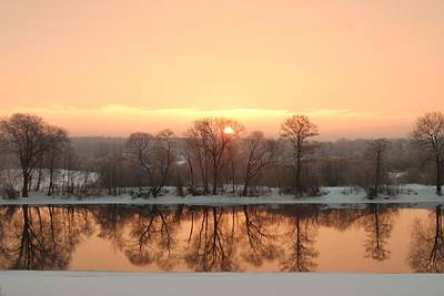 Photograph - Sunrise On The Ema River by Misuk Jenkins