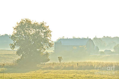 Photograph - Sunrise On The Farm by Cheryl Baxter