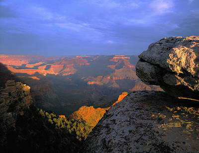 Sunrise On The Grand Canyon From Yaki Art Print