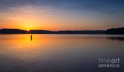 Sunrise On The Lake Original