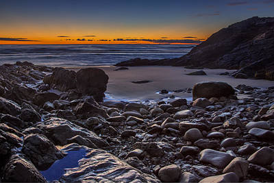 Photograph - Sunrise On The Marginal Way by Chris Whiton