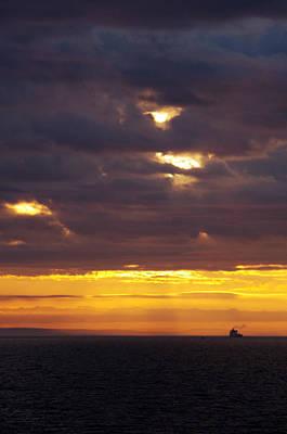 Photograph - Sunrise On The Ocean by Marilyn Wilson