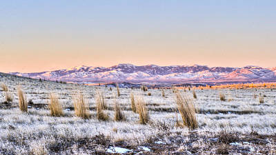 Photograph - Sunrise On The Open Range by David Martorelli