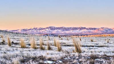 Photograph - Sunrise On The Open Range by David Martorelli