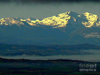 Carcassonne Photograph - Sunrise On The Pyrenees by France  Art