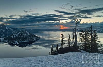 Photograph - Sunrise On The Rim by Stuart Gordon
