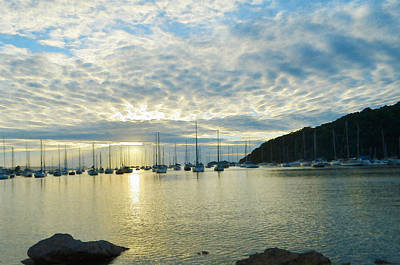 Trinidad Painting - Sunrise On The Sea by Anton Joseph