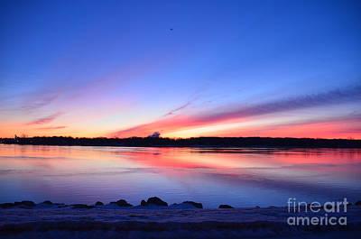 Photograph - Sunrise On The St Clair River by Randy J Heath