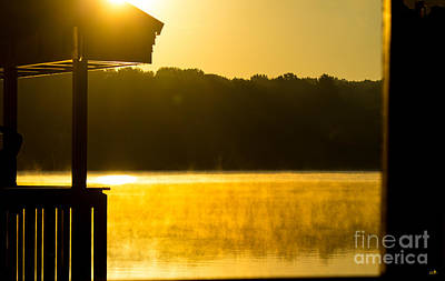 Photograph - Sunrise On The Water by Sandra Clark