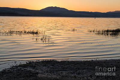 Sunrise On Tomales Bay - 262 Art Print by Stephen Parker