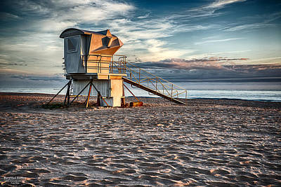 Sunrise On Vero Beach 2 Art Print