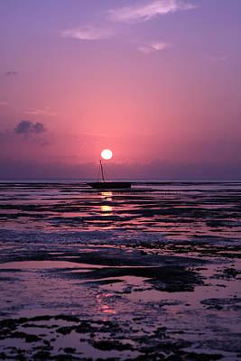 Coy Fish Michael Creese Paintings - Zanzibar Island Sunrise by Aidan Moran