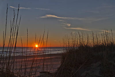 Photograph - Sunrise Outer Banks Norht Carolina Img_3721 by Greg Kluempers