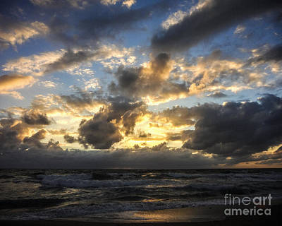 Photograph - Sunrise Over Boca Raton Florida by Ginette Callaway