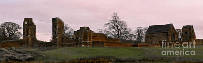 Sunrise Over Bradgate Art Print by Linsey Williams