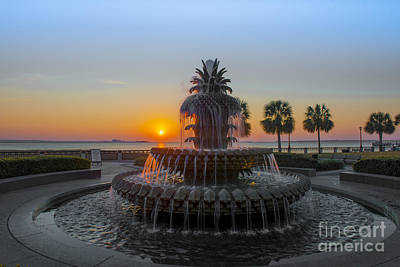 Photograph - Sunrise Over Charleston by Dale Powell