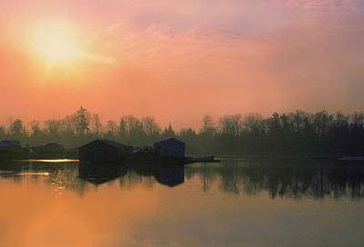 Photograph - Sunrise Over Collins Bay by Jim Vance
