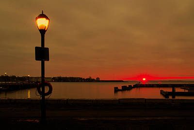 Photograph - Sunrise Over Confederation Harbour by Jim Vance