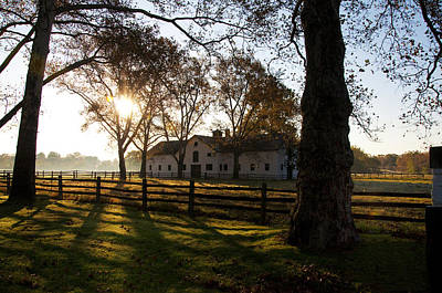 Sunrise Over Widener Farm Art Print by Bill Cannon