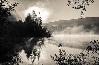 Photograph - Sunrise Over Fairy Lake by Roxy Hurtubise