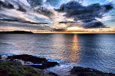 Photograph - Sunrise Over Falmouth by Ian Cocklin