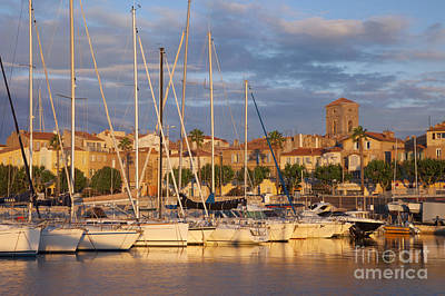 Sunrise Over La Ciotat France Art Print by Brian Jannsen