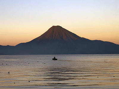 Photograph - Sunrise Over Lake Atitlan by Kurt Van Wagner