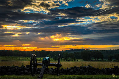 Photograph - Sunrise Over Little Round Top by Pat Scanlon