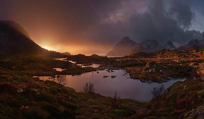 Norway Wall Art - Photograph - Sunrise Over Lofoten by Inigo Cia