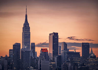 Manhattan Sunrise Original by Eduard Moldoveanu