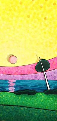 Sunrise Over Old Tampa Bay Original by Jason Charles Allen