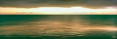 Sunrise Over Pacific Ocean, Cabo Pulmo Art Print