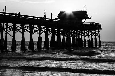 Photograph - Sunrise Over Pier by Stefan Mazzola