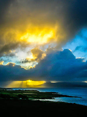 Photograph - Sunrise Over Sheep's Head Peninsula by James Truett