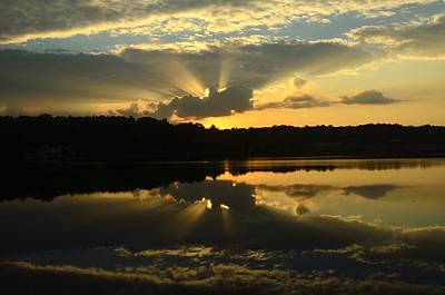 Photograph - Sunrise Over Sweetwater Lake by Walt Sterneman