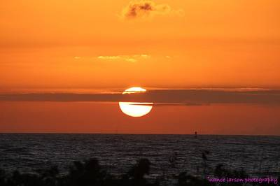 Photograph - Sunrise Over The Atlantic by Nance Larson